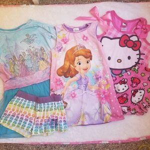 pajama set, sleepwear for girl